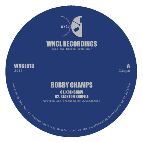 WNCL013: BOBBY CHAMPS_4 Track EP
