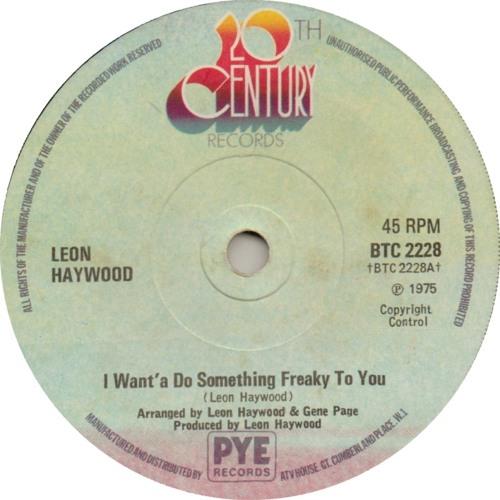 Leon Haywood - I Want to Do Something Freaky To You (MINGLE Edit)