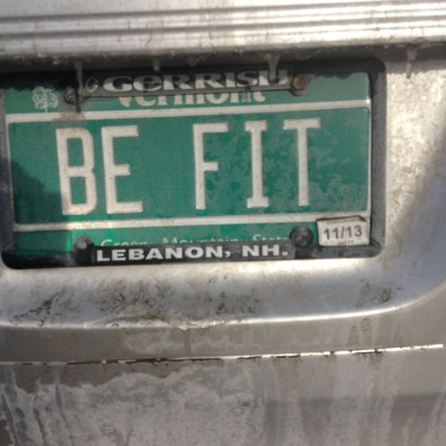 Be Fit (A phonecall from your personal trainer)