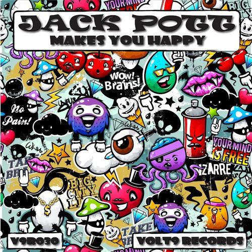 Jack Pott - Makes You Happy (Kill Eat Ratz Remix) [Volt 9 Records]