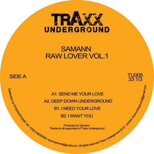 TU005 Samann - Raw Lover Vol. 1