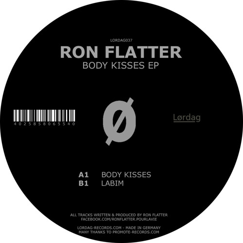 Ron Flatter - Body Kisses - Lordag 037
