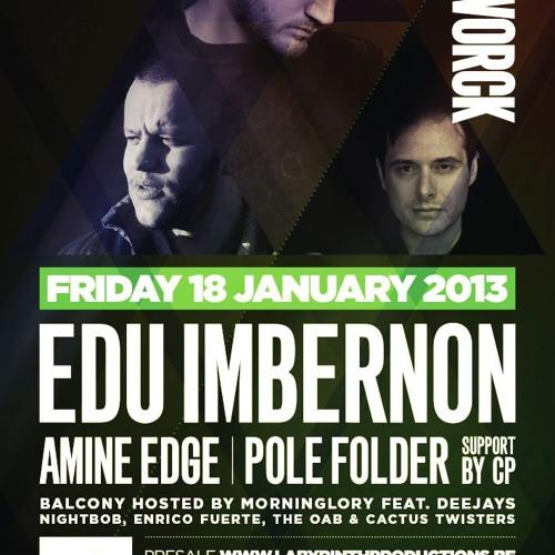 Edu Imbernon live @ Cafe D'Anvers, Antwerp. 18th jan 2013