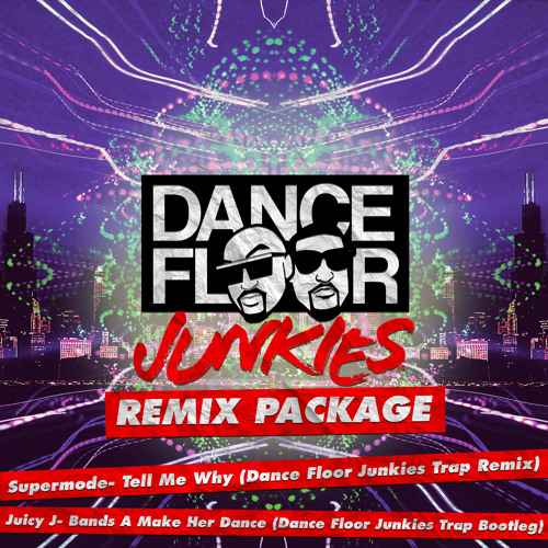 MASHUP | Juicy J & Dance Floor Junkies - Bands A Make Here Dance [Dance Floor Junkies Trap Remix]