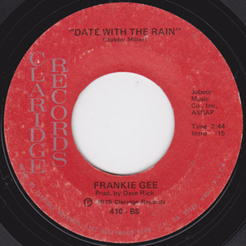 FREE DL - Frankie Gee - Date with the rain (Dj Prime Extended Edit)