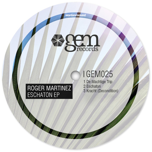 Roger Martinez - Kracht (Decondition) | Out Feb 11th 2013 on Gem Records