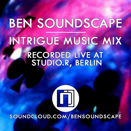 Intrigue Music Mix recorded @ Studio.R, Berlin