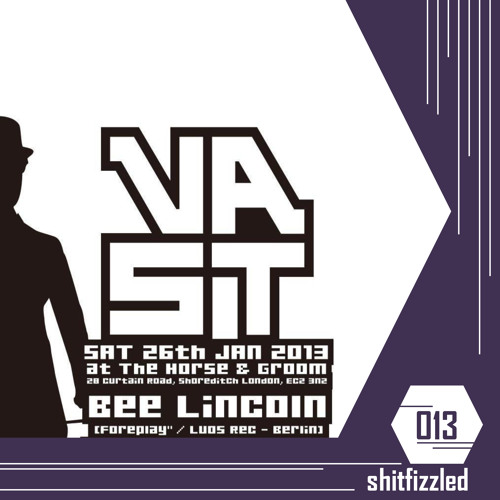Bee Lincoln - 013 - shitfizzled /// mixed at Vast London