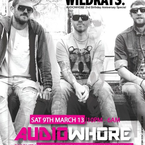 Audio Whore 2nd Bday Sat 9th March - DJ Majesty