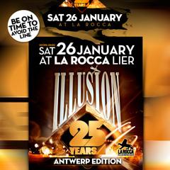 Dj David Dm @25 Years Illusion(Backstage La Rocca)26.01.2013