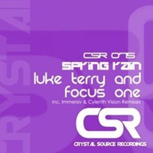 Luke Terry & Focus One - Spring Rain (Immersiv Remix) [CSR]