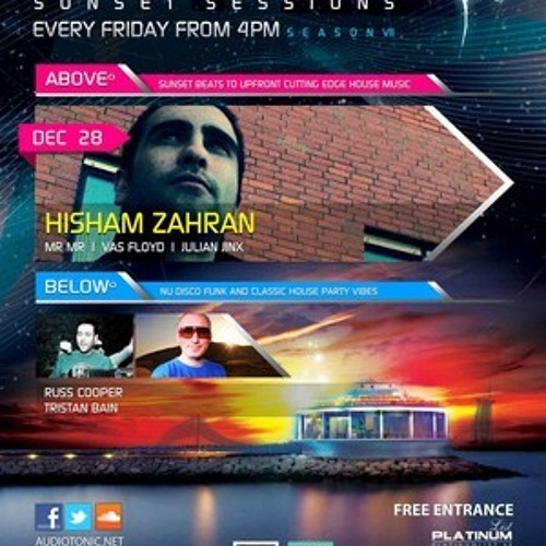 Hisham Zahran - Live at Audio Tonic 360 Dubai [28-12-2012]