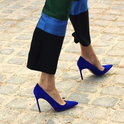EDs Project - Blue shoes