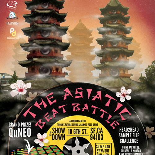 Asiatic Beat Battle Round 2 (sample pack round)
