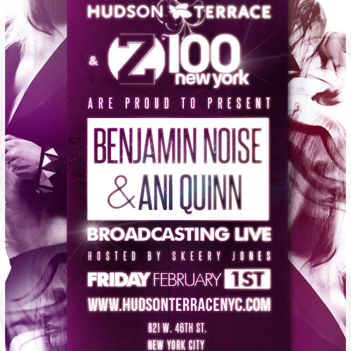 z100 Promotional Clip for Ani Quinn and Benjamin Noise