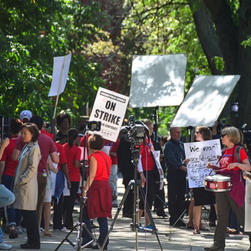 Chicago Teachers Union Strike Day 2