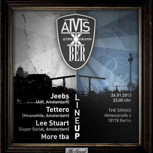 Jeebs - AMS x BER (The Grand, Berlin) - 26-01-2013