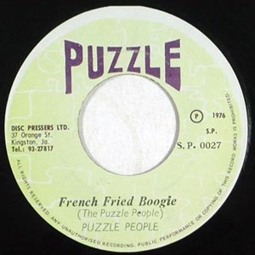Puzzle People - French Fried Boogie - MM rework