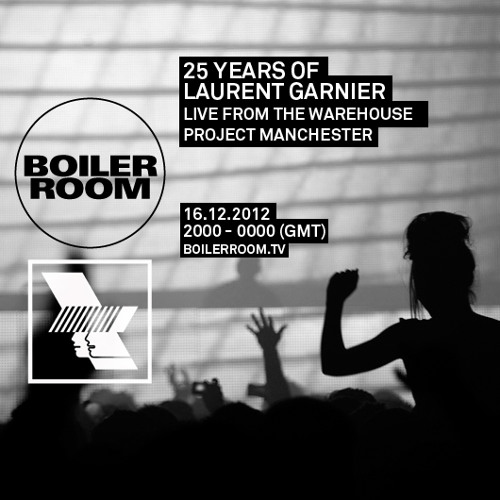 Laurent Garnier live at Boiler Room x WHP
