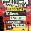 10dens Live @ BergWacht Artheater Cologne 02.10.2012