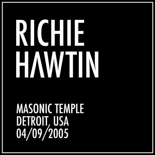 Richie Hawtin: Masonic Temple, Detroit, USA (04-09-2005)