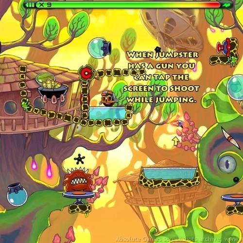 Jumpster Theme 1 [iOS Game\Arcade] '12