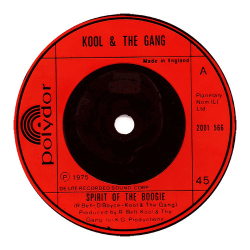 Kool & The Gang - Spirit of the Boogie (TREW edit)