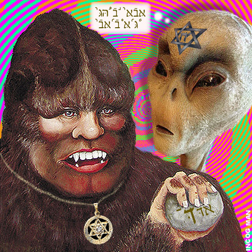 Bigfoot, Aliens & Jews