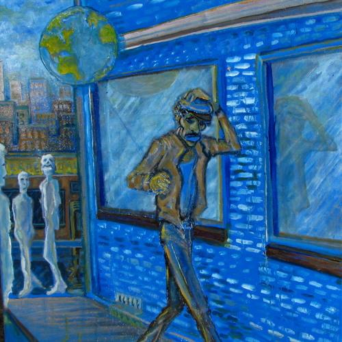 Stationary Blues- Waterman