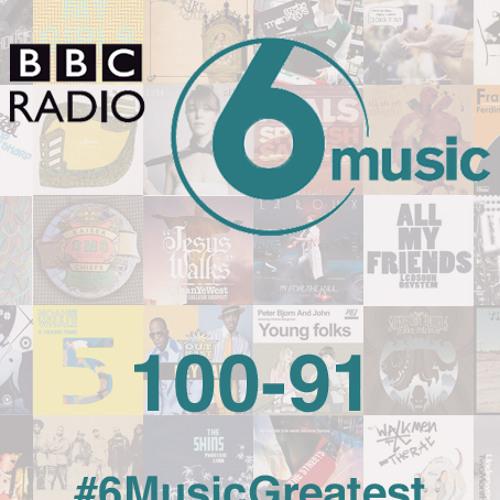 #6MusicGreatest 100-91