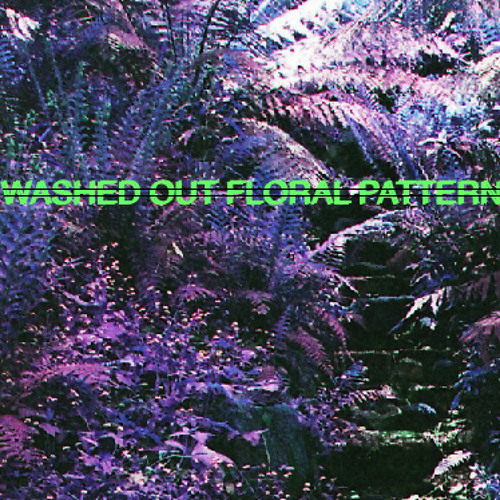 Washed Out Floral Pattern