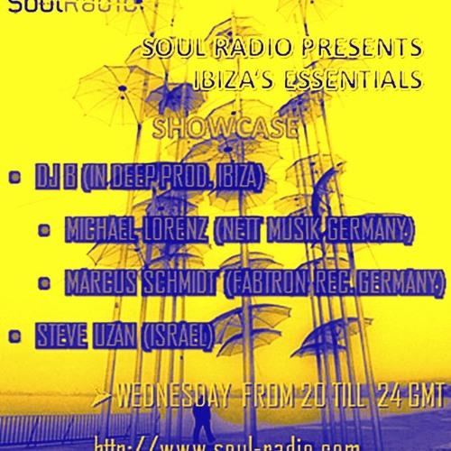STEVE UZAN -ibiza's essentials @ soul radio SHOWCASE 3