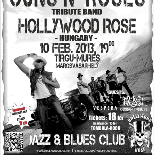 HOLLYWOOD ROSE Live in Tg. Mures - Promo RO 10.02.2013