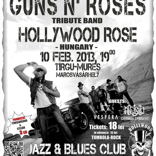 HOLLYWOOD ROSE Live in Tg. Mures - Promo HU 10.02.2013