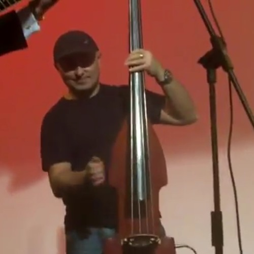 route 66 Natalie Cole version bass on upright bass