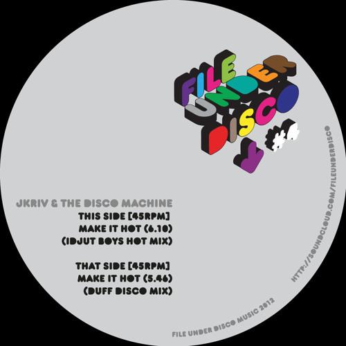JKriv & The Disco Machine - Make It Hot (Duff Disco Mix) [PREVIEW]