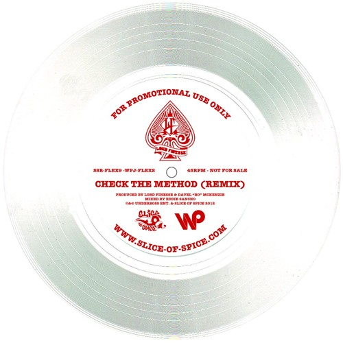 Lord Finesse - Check The Method (Remix) (Wax Poetics Japan Flexi-disc)