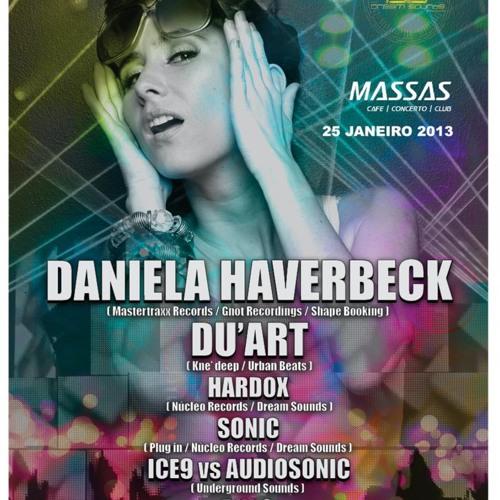Daniela Haverbeck  @ Massas Club - PT (20130125)