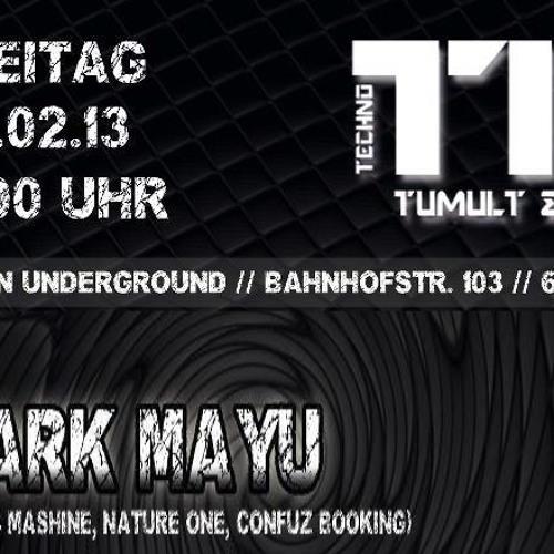 Mark Mayu @ London Underground - 01.02.2013 -