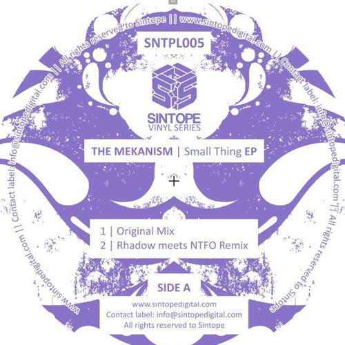 The Mekanism - Small Thing (Rhadow meets NTFO remix) [Sintope Vinyl Series]