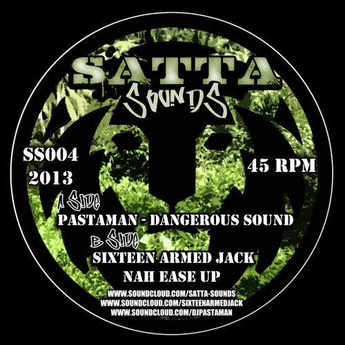 "16AJ - Nah Ease Up ft Coccoa Tea (Available Now On 12"" @ www.sattasounds.co.uk)"