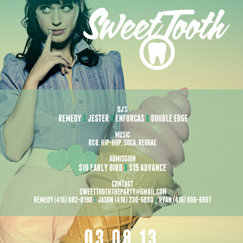 Sweettooth Mix CD (March 8th 2013)