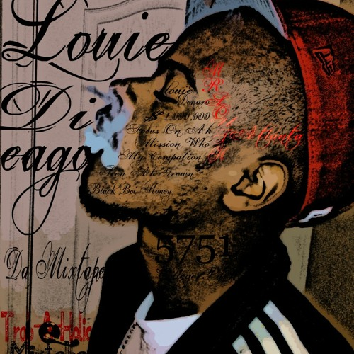 New Off The Louie London Mix Tape Louie Dieago Black Breed Mifa aka Voices In My Head...