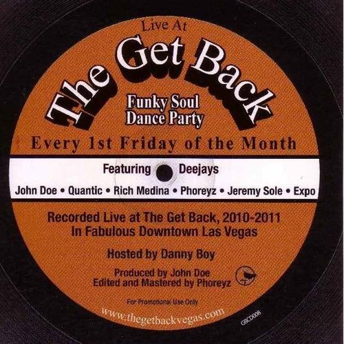 Live @ The Get Back Vol 8