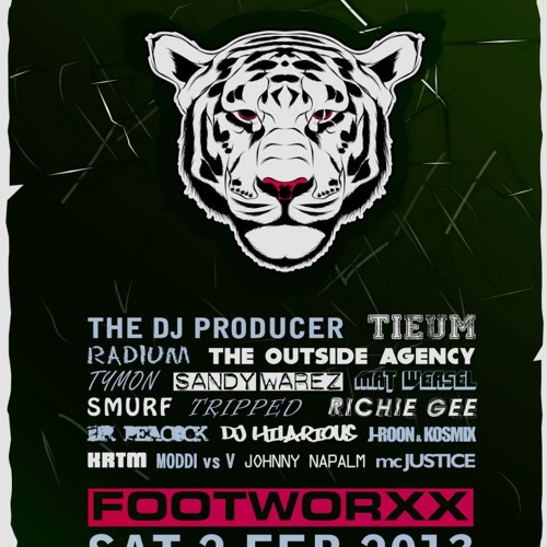 Johnny Napalm @ Footworxx - Beast Tamer (Club Rodenburg Beesd NL) 02-02-2013