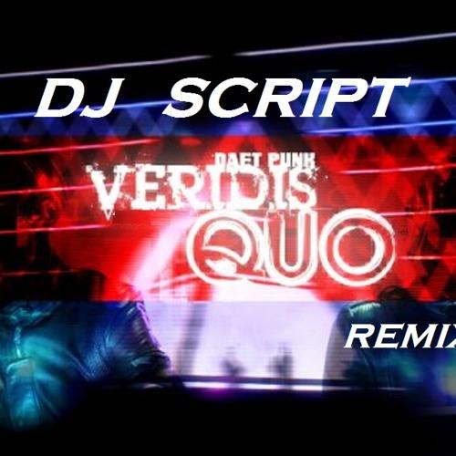 Veridis quo (daft punk) remix   dj script