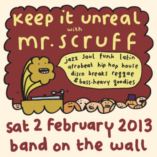 Mr Scruff Freestyle DJ SETS