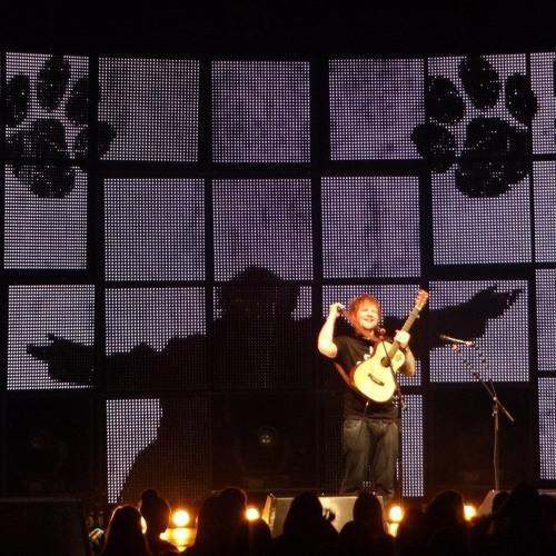 Kiss Me- Ed Sheeran LIVE