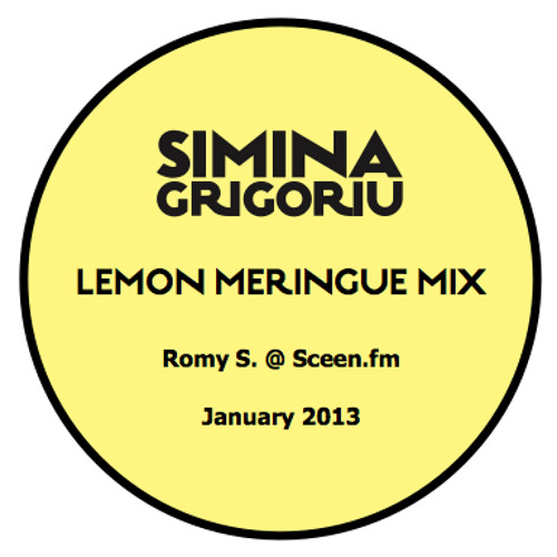 Simina Grigoriu - LEMON MERINGUE Mix