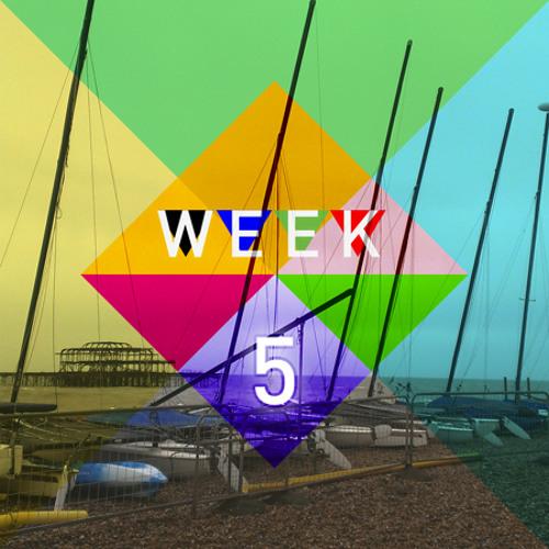 Week 5 - Busker, busker, busker, toys and boats